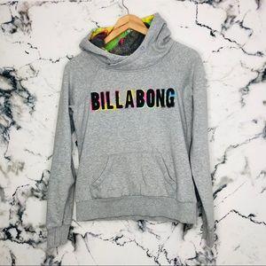 Billabong Hoodie Grey Women Size Small